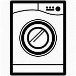 Washing Laundry Machine Icon Icons Clipart Symbols