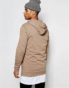 Mens Beige Hoodie - Trendy Clothes