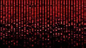 Red Matrix Code Loop Stock Footage Video 5042666 ...