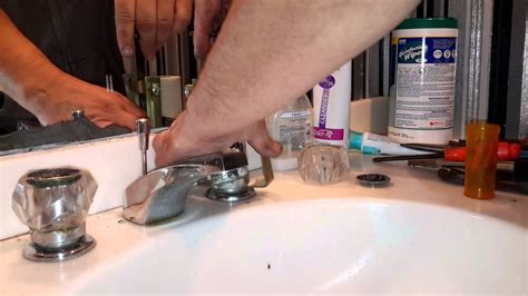 Stuck Faucet by How To Take Stuck Faucet Handle