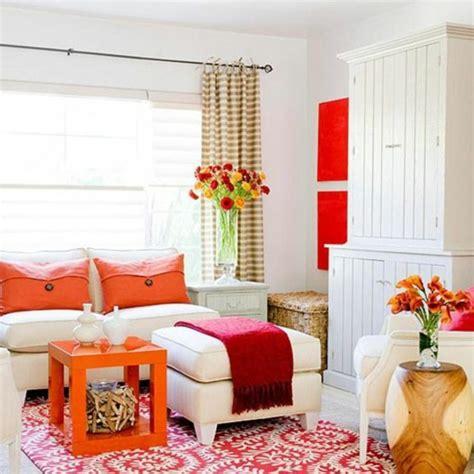 teppich  orange bringt herbstliche stimmung und energie