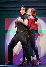 bonnie aarons swimsuit grease theater review new york times