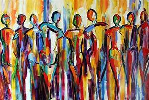 The Palette Knife People living tight? Really? Abstract ...