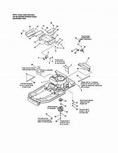 Craftsman Model 107289860 Lawn  Riding Mower Rear Engine