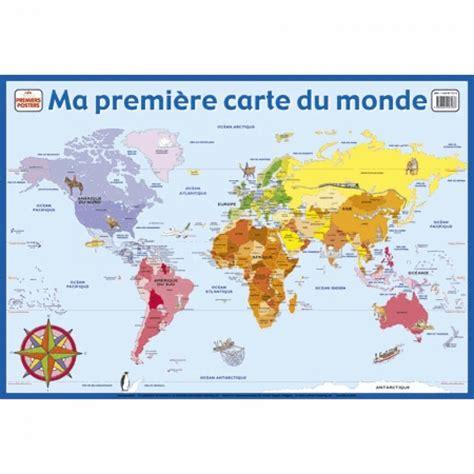 Carte Monde Liege Cultura by Ma Premi 232 Re Carte Du Monde Livre Documentaires Cultura