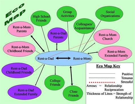 foster parent eco map