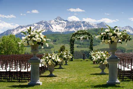 rustic elegant mountain wedding  telluride colorado