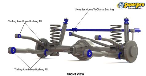 car suspension parts names superpro suspension parts and poly bushings for nissan