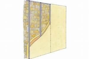 Doubler Un Mur En Placo Sur Rail : doublage sur ossature placostil isoler un mur irr gulier ~ Dode.kayakingforconservation.com Idées de Décoration