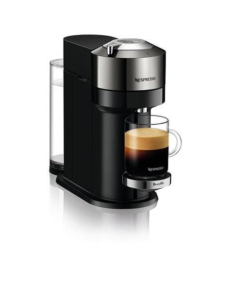 Completely open the slider and close the slider. Nespresso Vertuo Next Deluxe Coffee and Espresso Maker by Breville, Dark Chrome with Aeroccino ...
