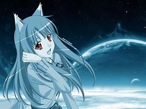 Anime Wolf Girl Wallpaper - WallpaperSafari