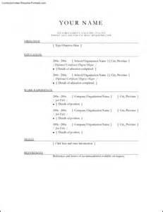 resume exles to print free resume templates printable free sles exles format resume curruculum