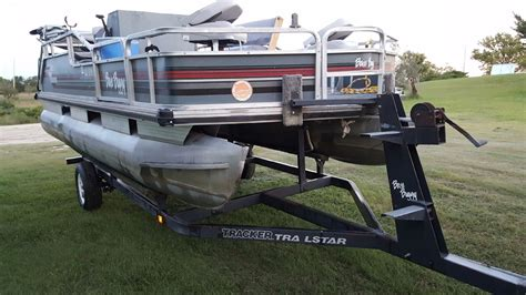 Used Pontoon Boats Bass Tracker by Sun Tracker Bass Buggy Boat For Sale From Usa