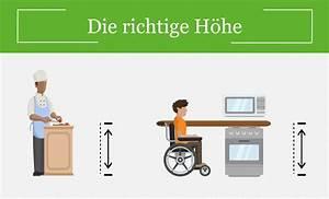 Mietminderung Küche Nicht Nutzbar : barrierefreie k che kochen ohne hindernisse ~ Lizthompson.info Haus und Dekorationen