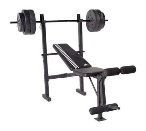 Barbell And Bench Set by Cap Barbell Fms Cs100p Bench With 100 Lbs Weight Set Ebay