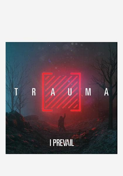 prevail trauma cd  autographed booklet newbury comics