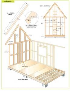 shed floor plans completely free 108 sq ft cottage wood cabin plans tiny houses