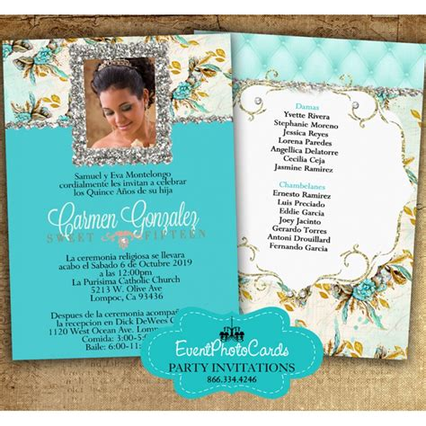 buy  quinceanera invites  offer matching products