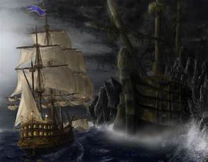 pirate ghost ship by daybreaks0 on DeviantArt