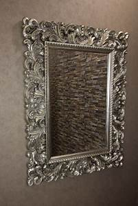 Wandspiegel Silber Antik : barock wandspiegel silber antik spiegel ramon ~ Watch28wear.com Haus und Dekorationen