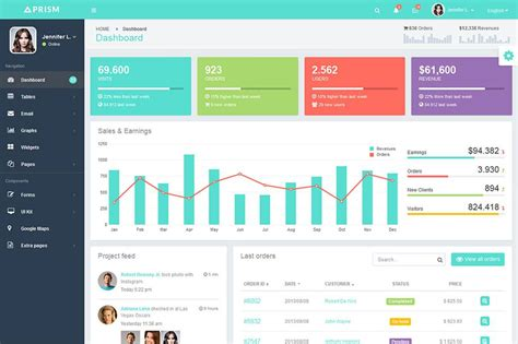bootstrap template 42 bootstrap admin themes templates free premium templates