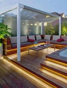 terrasse en bois ou composite idees merveilleuses pour l With idee de terrasse en composite