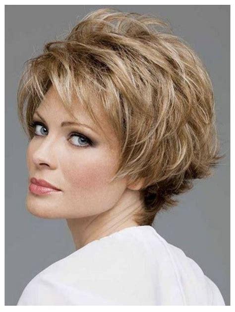 2020 hairstyles older women over 50 Medium thin hair