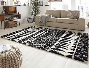 Hochflor Teppich Schwarz : design velours teppich hochflor inspire schwarz teppiche hochflor teppiche ~ Indierocktalk.com Haus und Dekorationen