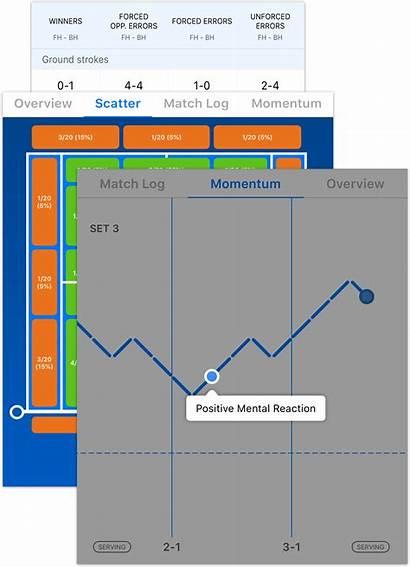 Tennis Serious Stats Players Tracking Watching Enjoy