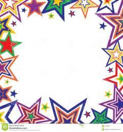 Rainbow Star Border