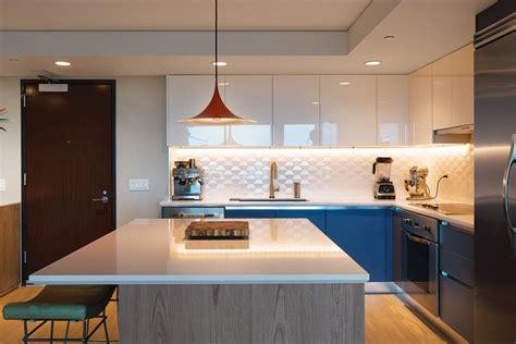 downtown honolulu condo kitchen   contemporary