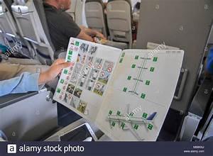 Sicherheitskarte F U00fcr Flugzeuge Stockfotos