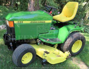 a history of popular deere lawn garden tractors