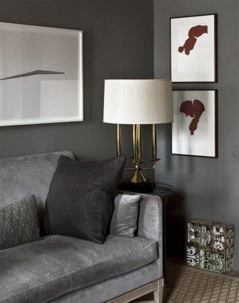 Exquisit Wohnzimmer Ideen Wandgestaltung Grau Die Graue Wandfarbe 43 Interieur Ideen Damit