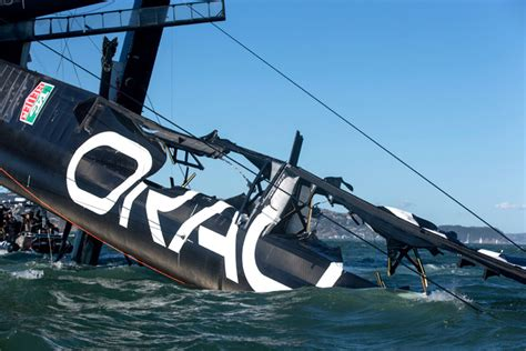 Nadine Yacht Sinking Plane Crash by The Boat That Could Sink The America S Cup Wired