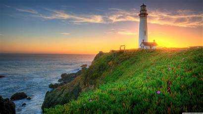 Lighthouse Pigeon Point California Wallpapers