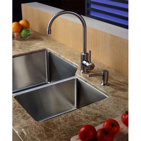 best price kitchen sinks best prices on kraus undermount 70 30 bowl kitchen 4586