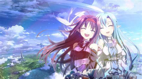 Sword Art Online Iphone Wallpaper Asuna And Yuuki Fonds D 39 écran Arrières Plan 1920x1080 Id 647753