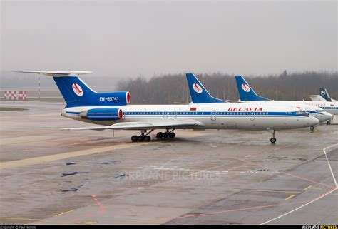 EW-85741 - Belavia Tupolev Tu-154M at Minsk Intl | Photo ID 205197 | Airplane-Pictures.net
