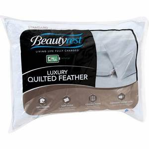 beautyrest luxury feather pillow walmartcom With down feather pillows walmart