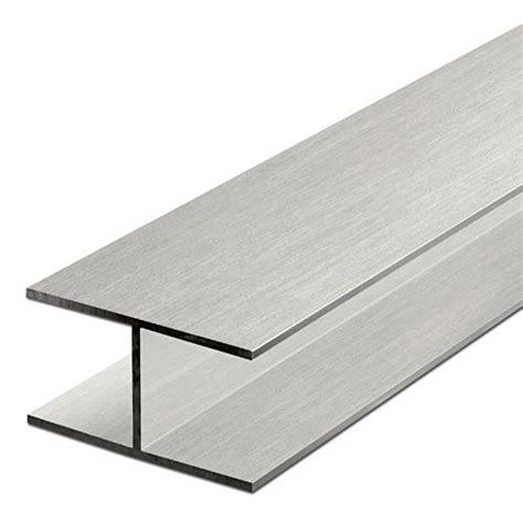 aluminium h profiles isosceles