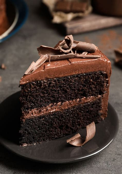 SWEETLY Chocolate Cake with Chocolate Butter Icing - SWEETLY