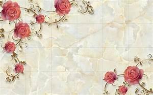 Aliexpress.com : Buy Marble Rose Shading TV backdrop 3d ...