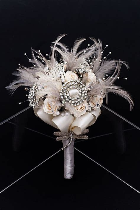 25 Best Ideas About Feather Bouquet On Pinterest