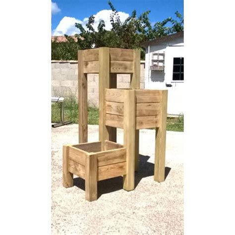 jardiniere en bois sur pied pas cher achat vente
