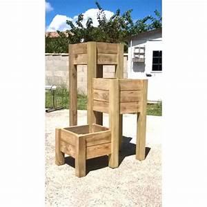 Jardinière Haute Pas Cher : jardiniere bois castorama ~ Premium-room.com Idées de Décoration
