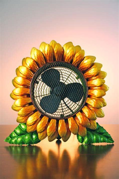 decorative sunflower fan