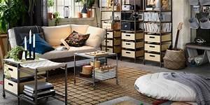 Deco Ikea Salon : rangement salon 6 mani res de ranger et d corer marie claire ~ Teatrodelosmanantiales.com Idées de Décoration