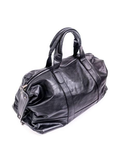 Melna ekoādas soma / Drēbjotava