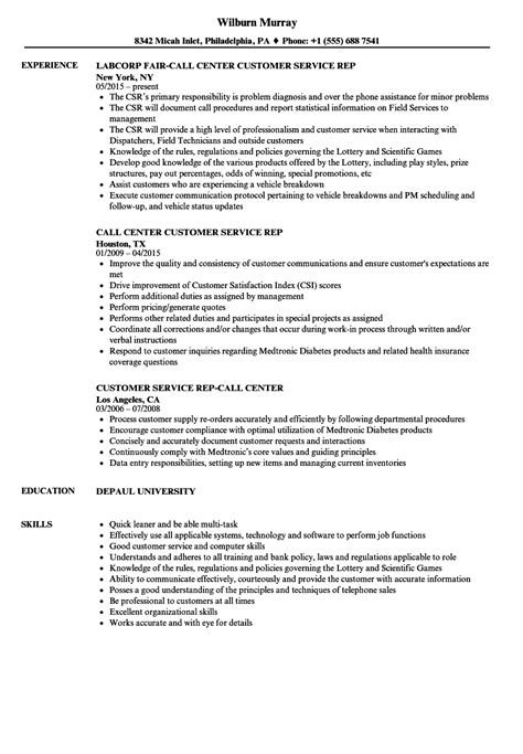 job resume samples  customer service world  reference